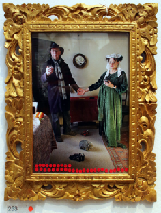An Allegory of Modern Marriage (After Van Eyck), exhibited in the Royal Academy in 2014